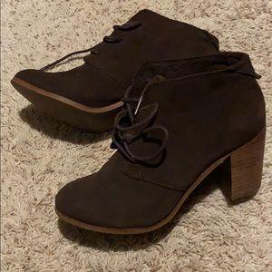 TOMs brown booties